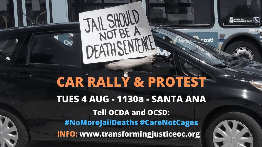 8.4.20 Car rally & protest